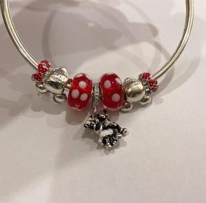 Pandoral bracelet with classic disney charms sale